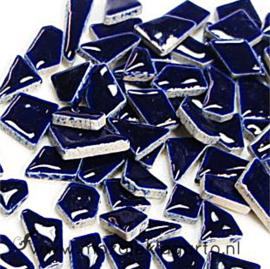 Keramiek Puzzelstukjes per 100 gram Donkerblauw 019