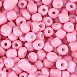 Rocailles 6/0 Roze per 10 gram