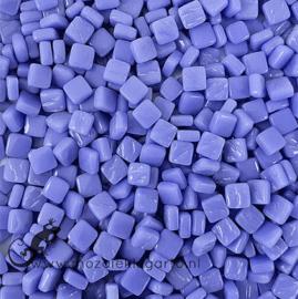 Mozaïek tegeltjes glas 8 x 8 mm Opaal per 50 gram Warm Blauw 067
