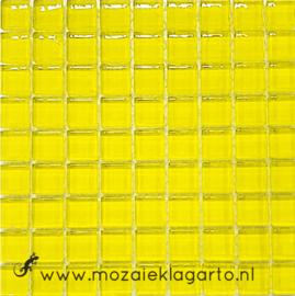 Glastegeltje Murrini Citroengeel per 81 tegeltjes 013