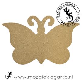 Ondergrond voor mozaiek MDF Vlindertje