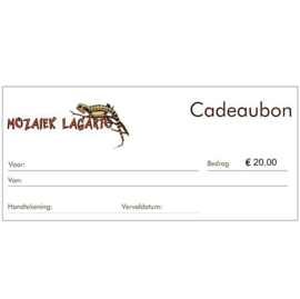 Cadeaubon € 20.00