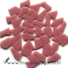 Mozaiek puzzelstukjes Glas 100 gram Roze 035