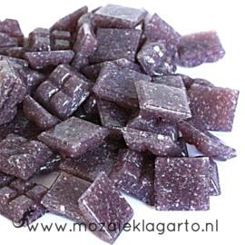 Basis  glastegeltjes 1 x 1 cm per 50 gram Paars 043