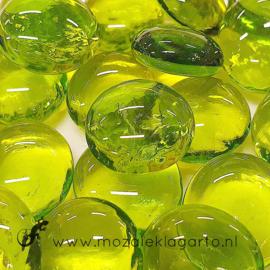 Glas Nugget 17-22 mm Transparant 50 gram Limoen 4540