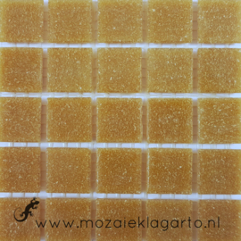 Basis glastegels Caramel per 25 tegels 033