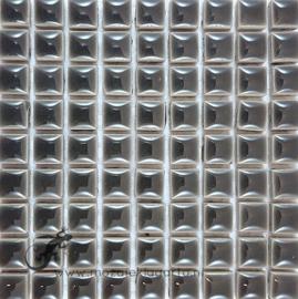 Keramiek tegel 10x10 mm per 81 Grijs 002