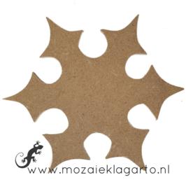 Ondergrond voor mozaiek Mini MDF Sneeuwster 026