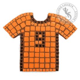 Mozaiekpakket 8 Magneet Voetbalshirt Oranje