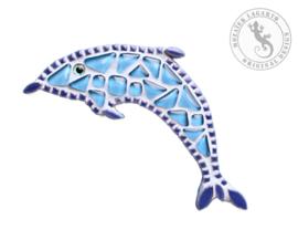 Mozaiekpakket 8 magneet Dolfijn