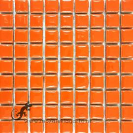 Keramiek tegel 10x10 mm per 81 Oranje 006