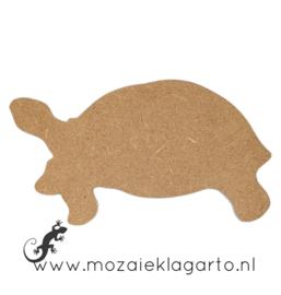 Ondergrond voor mozaiek Mini MDF Schildpad 009