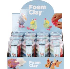 Foam Clay met Glitter 6 kleuren