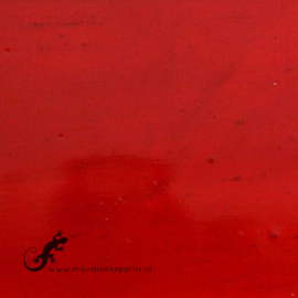 Glasplaat 19 x 20 cm Rood Transparant CAG007t