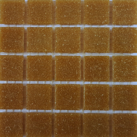 Basis glastegels Midden Bruin per 225 tegels 034