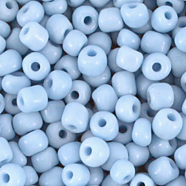 Rocailles 6/0 Lichtblauw per 10 gram