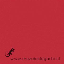 Geglazuurde mozaiektegel Mosa 15 x 15 cm Rood 16970