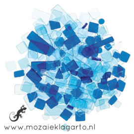 Acryl Mix Mozaiek Blauw/Aqua 2950