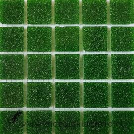 Basis glastegels Olijfgroen per 25 tegels 026