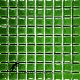 Keramiek tegel 10x10 mm per 81 Groen 141