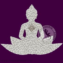Mozaiekpakket 65 Boeddha Lotus