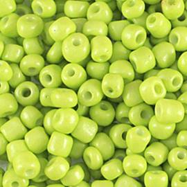 Rocailles 6/0 Limoen per 10 gram