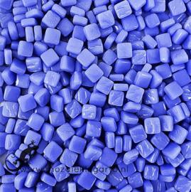 Mozaïek tegeltjes glas 8 x 8 mm Opaal per 50 gram Blauw 066