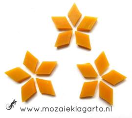 Wybertjes/Ruitjes 10x17 mm per 40 Mangogeel 041-1