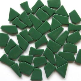 Mozaiek puzzelstukjes Glas 100 gram Donkergroen 055
