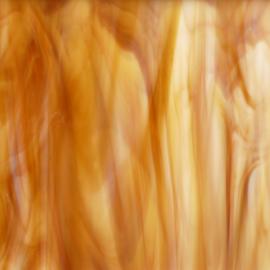 Glasplaat 20 x 20 cm Wit/Amber Opaal SO315-2o