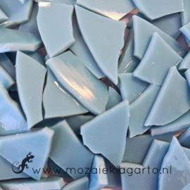 Gekleurde glasscherven Opaal Grijsblauw SO238-72o