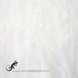 Glasplaat 20 x 20 cm Wit Semi Translucent Y307st
