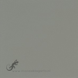 Geglazuurde mozaiektegel Mosa 15 x 15 cm Mouse Grey 16880