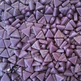 Glasmozaiek Driehoekjes 10 mm per 50 gram Paars 085