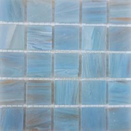Goudader glastegels Lichtblauw per 25 tegels 011