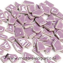 Keramiek Puzzelstukjes per 100 gram Lila 045