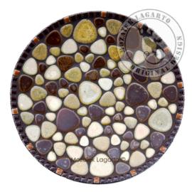 Mozaiekpakket 12 Schaal Flintstone Rock Garden
