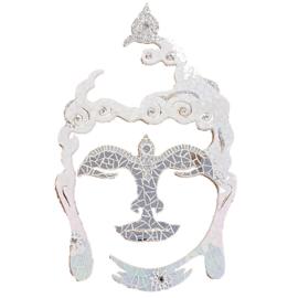 Mozaiekpakket 23 Boeddha 60 cm Wit