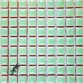 Keramiek tegel 10x10 mm per 81 Mintgroen 145