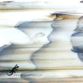 Glasplaat 19 x 20 cm Marmer Grijs Semi Translucent CAG101st