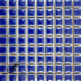 Keramiek tegel 10x10 mm per 81 Blauw 191