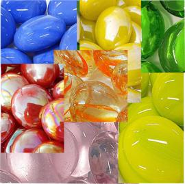 Glas Nuggets 17-22 mm