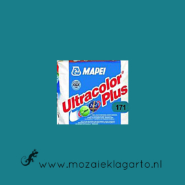 Voegmiddel Mapei Ultra Color Plus 250 gram Turquoise 171