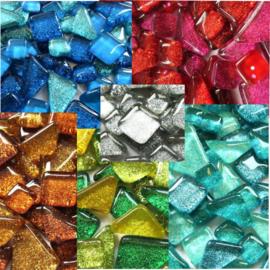 Puzzelstukjes Glitter