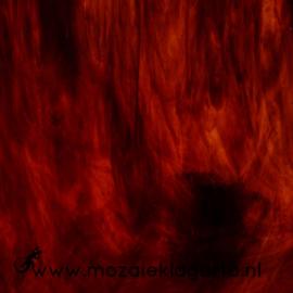 Glasplaat 20 x 20 cm Translucent  Warm Donkerbruin W199tl