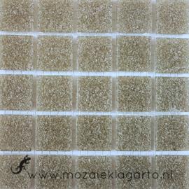 Basis glastegels Grijsbruin per 25 tegels 007