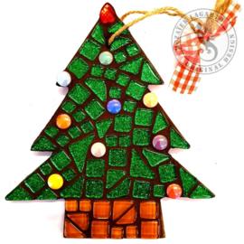 Mozaiekpakket 59 Kerstboom in tas