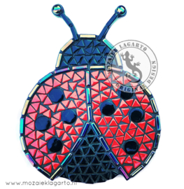 Mozaiekpakket 7-8 Lizzy het Lieveheersbeestje