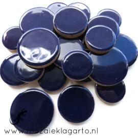 Keramiek Cirkel  3 maten Donkerblauw 019