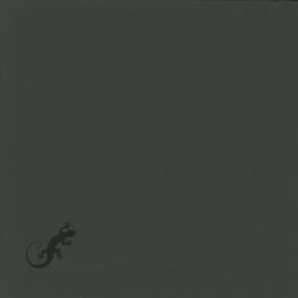 Geglazuurde mozaiektegel Mosa 15 x 15 cm Ivoorzwart 16850